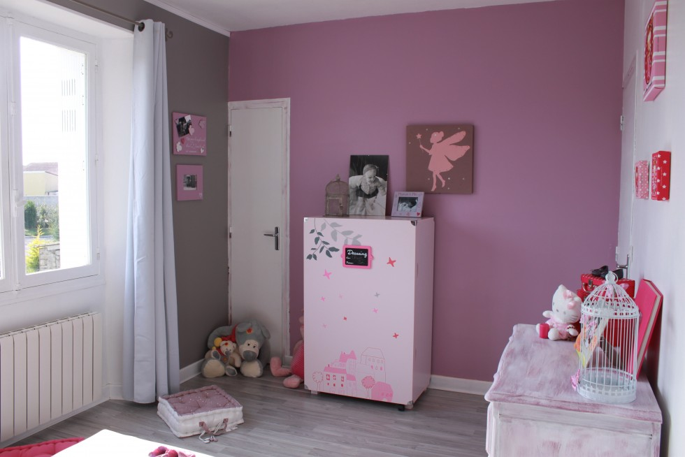 Deco Chambre Fille Rose  Bebe Confort Axiss