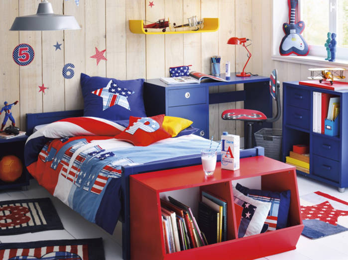 Idee deco chambre garcon 10 ans - bebe confort axiss