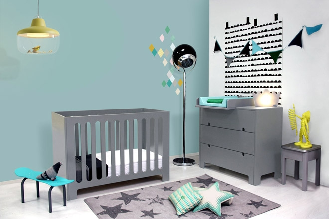 chambre bebe gris bebe confort axiss. Black Bedroom Furniture Sets. Home Design Ideas