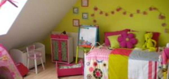D coration chambre fille 3 ans bebe confort axiss - Chambre fille 3 ans ...