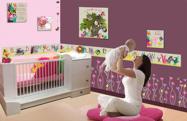 Decoration chambre bebe fille originale - bebe confort axiss