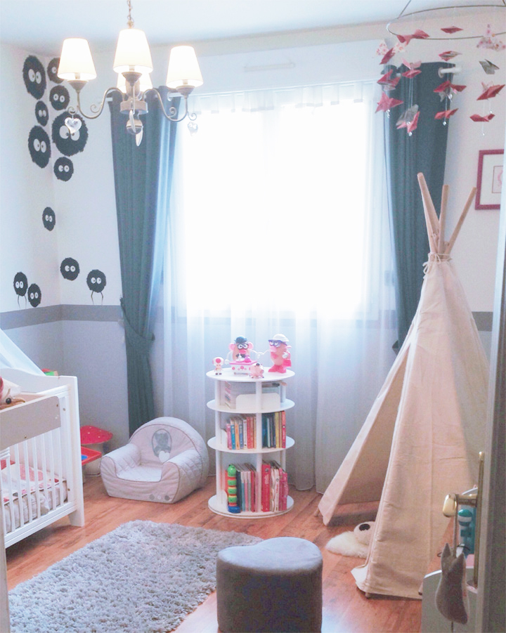 Deco chambre fille 2 ans bebe confort axiss - Chambre fille 7 ans ...