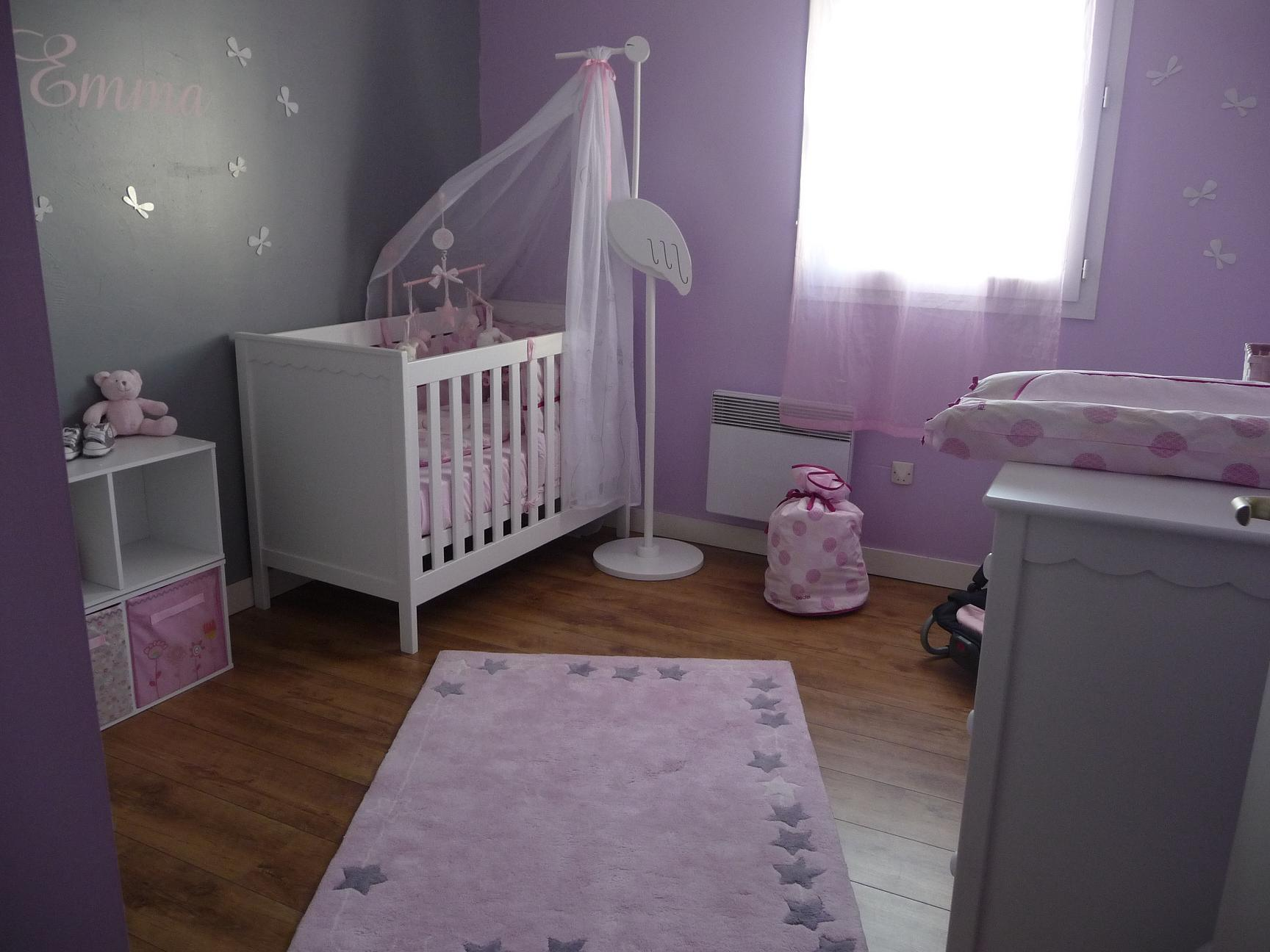 Idee deco chambre bebe fille - bebe confort axiss