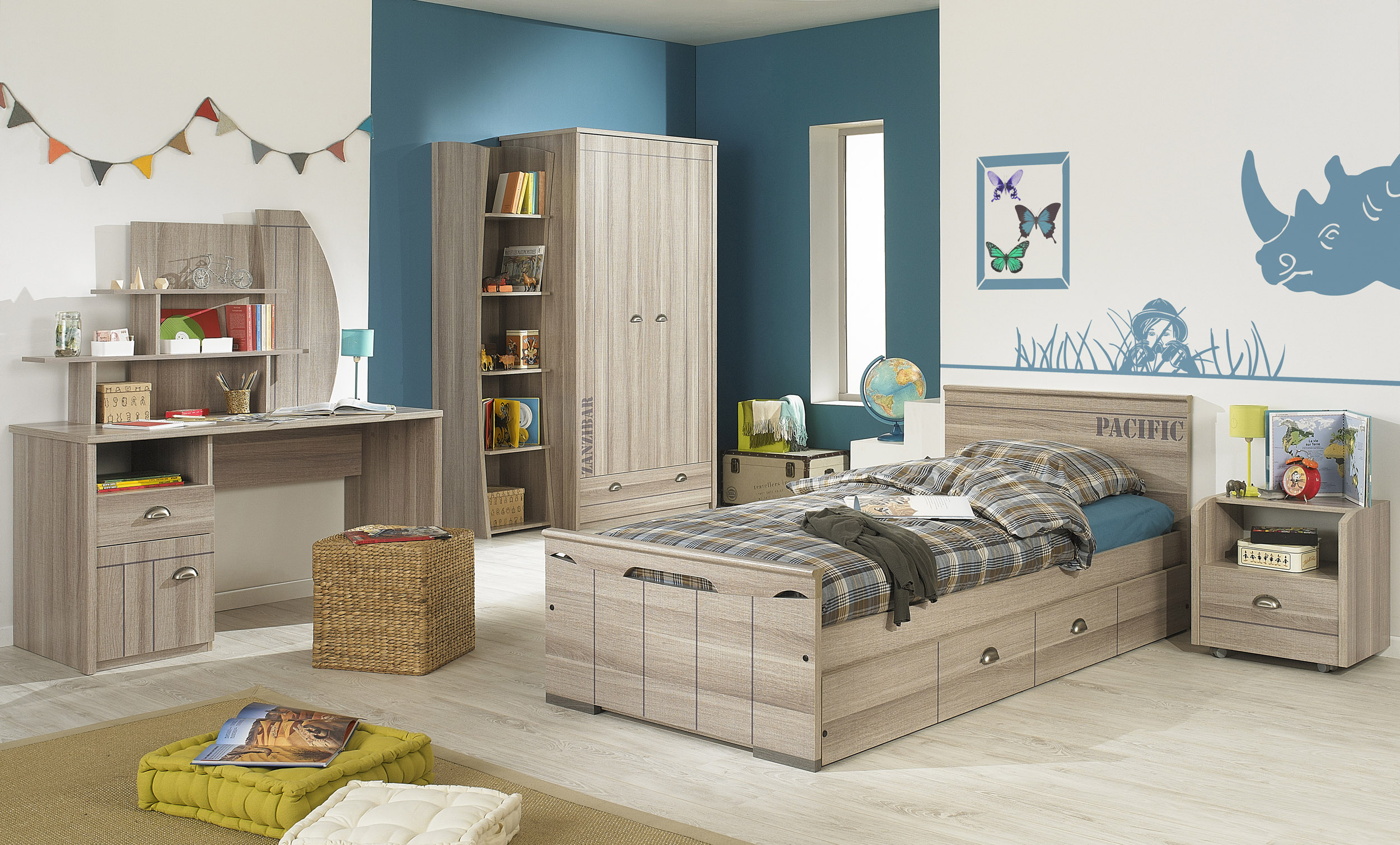 Ambiance chambre enfant - bebe confort axiss