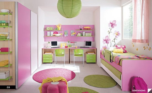 Idee deco chambre petite fille - bebe confort axiss